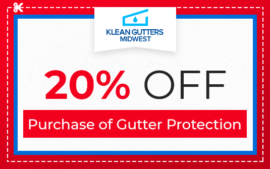 20% Off - Purchase of Gutter Protection