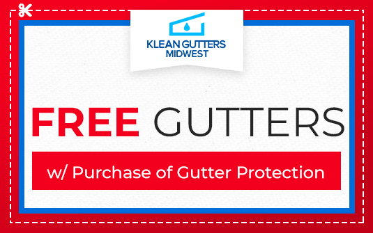Free Gutters - with Purchase of Gutter Protection