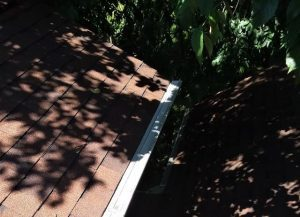 Klean Gutters Leaf Guard, Custom Fit With The Pitch Of The Roof