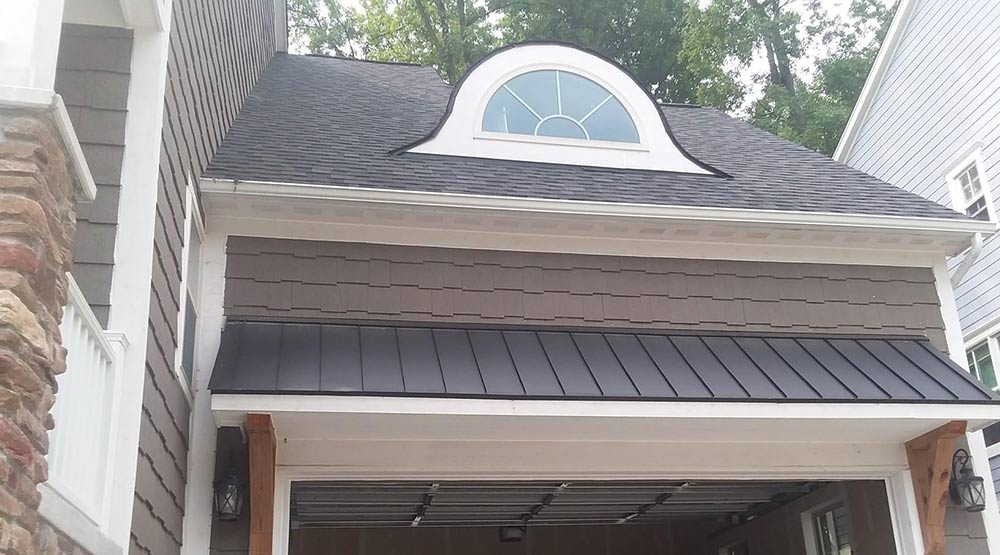 Custom Fit Gutter Protection Installation - Before