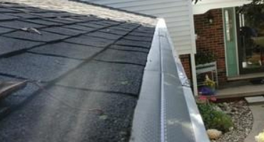 Unprotected Gutters Cause Maintenance And Risk For Water Damages On Bronson